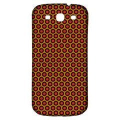 Lunares Pattern Circle Abstract Pattern Background Samsung Galaxy S3 S III Classic Hardshell Back Case