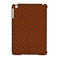 Lunares Pattern Circle Abstract Pattern Background Apple iPad Mini Hardshell Case (Compatible with Smart Cover)