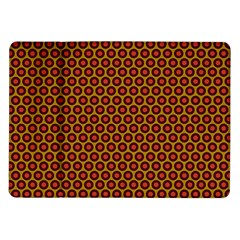 Lunares Pattern Circle Abstract Pattern Background Samsung Galaxy Tab 10.1  P7500 Flip Case