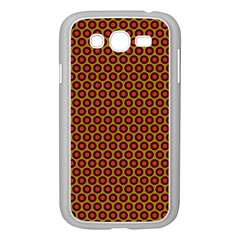 Lunares Pattern Circle Abstract Pattern Background Samsung Galaxy Grand DUOS I9082 Case (White)