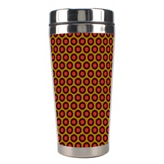 Lunares Pattern Circle Abstract Pattern Background Stainless Steel Travel Tumblers