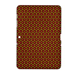 Lunares Pattern Circle Abstract Pattern Background Samsung Galaxy Tab 2 (10.1 ) P5100 Hardshell Case