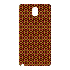 Lunares Pattern Circle Abstract Pattern Background Samsung Galaxy Note 3 N9005 Hardshell Back Case