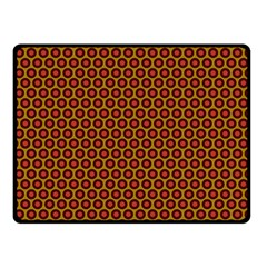 Lunares Pattern Circle Abstract Pattern Background Double Sided Fleece Blanket (Small)