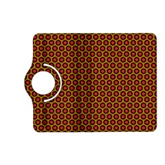 Lunares Pattern Circle Abstract Pattern Background Kindle Fire HD (2013) Flip 360 Case