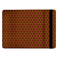 Lunares Pattern Circle Abstract Pattern Background Samsung Galaxy Tab Pro 12 2  Flip Case
