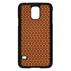 Lunares Pattern Circle Abstract Pattern Background Samsung Galaxy S5 Case (Black)