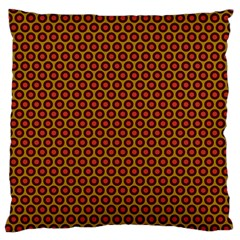Lunares Pattern Circle Abstract Pattern Background Large Flano Cushion Case (one Side)