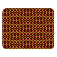 Lunares Pattern Circle Abstract Pattern Background Double Sided Flano Blanket (Large)