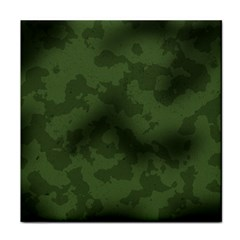 Vintage Camouflage Military Swatch Old Army Background Tile Coasters