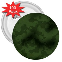 Vintage Camouflage Military Swatch Old Army Background 3  Buttons (100 pack)