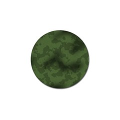 Vintage Camouflage Military Swatch Old Army Background Golf Ball Marker