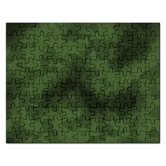 Vintage Camouflage Military Swatch Old Army Background Rectangular Jigsaw Puzzl