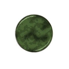 Vintage Camouflage Military Swatch Old Army Background Hat Clip Ball Marker (4 Pack)