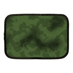 Vintage Camouflage Military Swatch Old Army Background Netbook Case (medium)