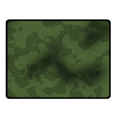 Vintage Camouflage Military Swatch Old Army Background Fleece Blanket (small)
