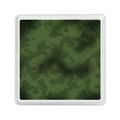 Vintage Camouflage Military Swatch Old Army Background Memory Card Reader (square)