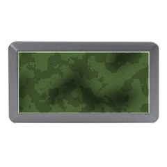 Vintage Camouflage Military Swatch Old Army Background Memory Card Reader (mini)