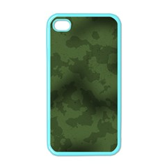 Vintage Camouflage Military Swatch Old Army Background Apple iPhone 4 Case (Color)