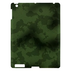 Vintage Camouflage Military Swatch Old Army Background Apple Ipad 3/4 Hardshell Case