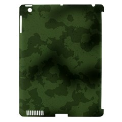 Vintage Camouflage Military Swatch Old Army Background Apple iPad 3/4 Hardshell Case (Compatible with Smart Cover)