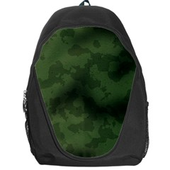 Vintage Camouflage Military Swatch Old Army Background Backpack Bag