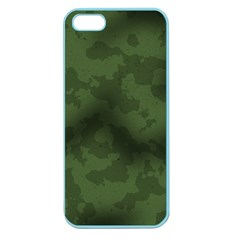Vintage Camouflage Military Swatch Old Army Background Apple Seamless iPhone 5 Case (Color)