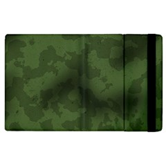 Vintage Camouflage Military Swatch Old Army Background Apple iPad 3/4 Flip Case