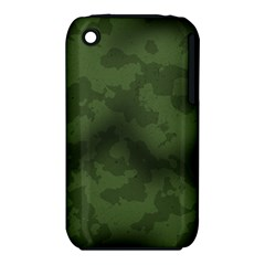 Vintage Camouflage Military Swatch Old Army Background iPhone 3S/3GS