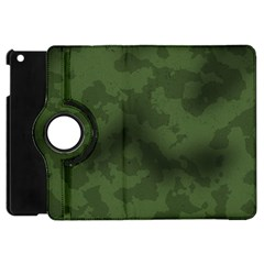 Vintage Camouflage Military Swatch Old Army Background Apple iPad Mini Flip 360 Case