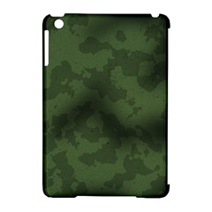 Vintage Camouflage Military Swatch Old Army Background Apple Ipad Mini Hardshell Case (compatible With Smart Cover)