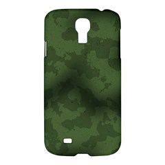 Vintage Camouflage Military Swatch Old Army Background Samsung Galaxy S4 I9500/i9505 Hardshell Case
