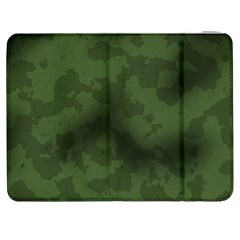 Vintage Camouflage Military Swatch Old Army Background Samsung Galaxy Tab 7  P1000 Flip Case