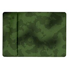 Vintage Camouflage Military Swatch Old Army Background Samsung Galaxy Tab 10.1  P7500 Flip Case