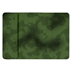 Vintage Camouflage Military Swatch Old Army Background Samsung Galaxy Tab 8 9  P7300 Flip Case