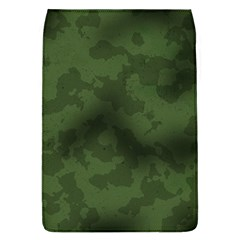 Vintage Camouflage Military Swatch Old Army Background Flap Covers (L)