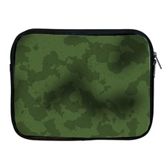 Vintage Camouflage Military Swatch Old Army Background Apple iPad 2/3/4 Zipper Cases
