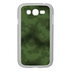 Vintage Camouflage Military Swatch Old Army Background Samsung Galaxy Grand DUOS I9082 Case (White)