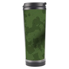 Vintage Camouflage Military Swatch Old Army Background Travel Tumbler