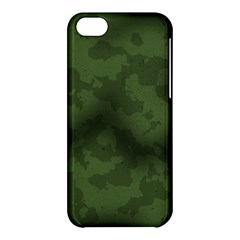 Vintage Camouflage Military Swatch Old Army Background Apple iPhone 5C Hardshell Case