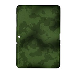 Vintage Camouflage Military Swatch Old Army Background Samsung Galaxy Tab 2 (10 1 ) P5100 Hardshell Case