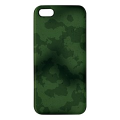 Vintage Camouflage Military Swatch Old Army Background iPhone 5S/ SE Premium Hardshell Case