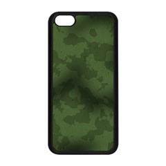 Vintage Camouflage Military Swatch Old Army Background Apple iPhone 5C Seamless Case (Black)