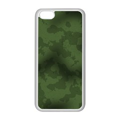 Vintage Camouflage Military Swatch Old Army Background Apple iPhone 5C Seamless Case (White)
