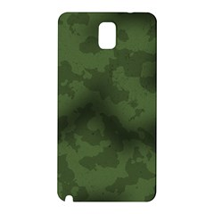 Vintage Camouflage Military Swatch Old Army Background Samsung Galaxy Note 3 N9005 Hardshell Back Case