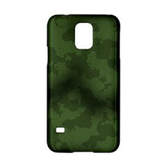 Vintage Camouflage Military Swatch Old Army Background Samsung Galaxy S5 Hardshell Case