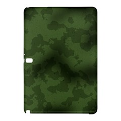 Vintage Camouflage Military Swatch Old Army Background Samsung Galaxy Tab Pro 10.1 Hardshell Case