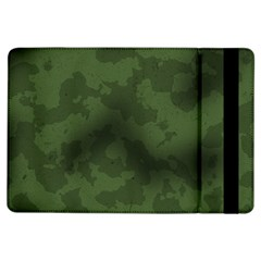 Vintage Camouflage Military Swatch Old Army Background iPad Air Flip