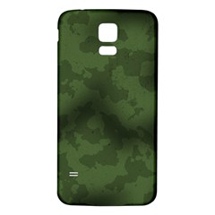 Vintage Camouflage Military Swatch Old Army Background Samsung Galaxy S5 Back Case (White)