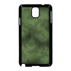 Vintage Camouflage Military Swatch Old Army Background Samsung Galaxy Note 3 Neo Hardshell Case (Black)